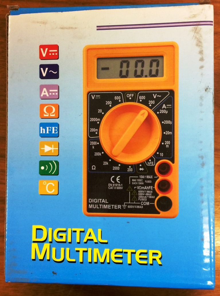 Digital-Multi-Meter-Orange