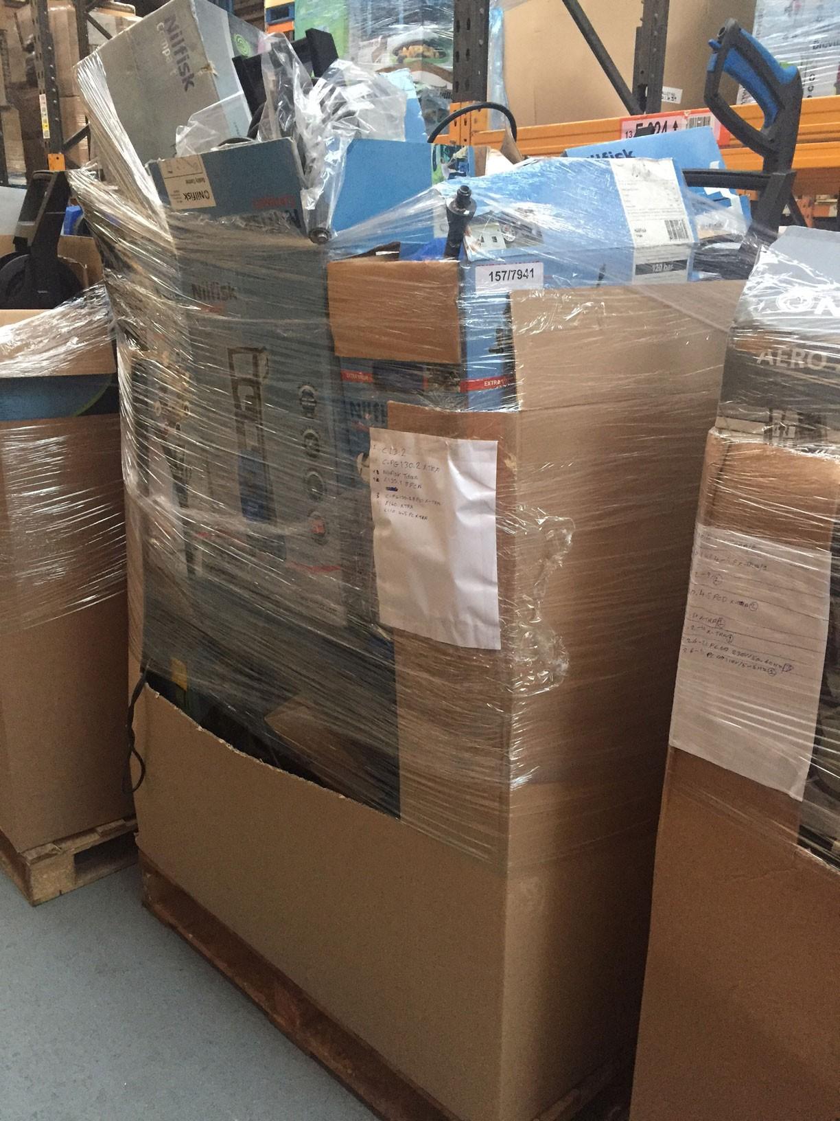 how to buy amazon return pallets