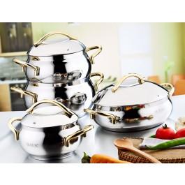 O.M.S. Heavy Gauge Stainless Steel Cookware - Huge Range In Stock