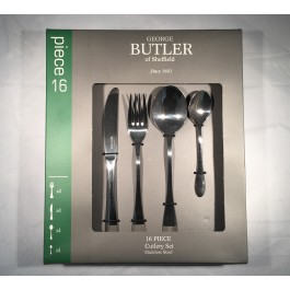 george butler 16 piece colombo cutlery set