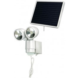 Brennenstuhl 1170920 Solar LED Spotlight With PIR 8 LED - New Wholesale Goods
