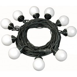 Brennenstuhl 10 x Multi-Coloured Bulb LED Party Chain Lights 1175293