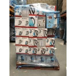 breville kettle electrical returns pallets