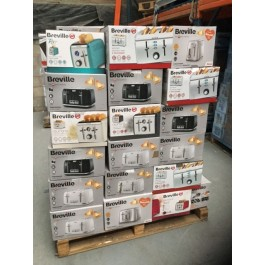 breville returns pallets containing toasters for export