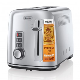 Breville Electricals VTT570 2 Slice Toaster Polished S/Steel Grade B Stock