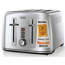 Breville Electricals VTT571 4 Slice Toaster Polished S/Steel Grade B Stock