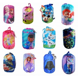 official character sleeping bags for children