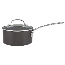 Circulon 83648 Genesis Plus Saucepan With Lid Hard Anodized 18cm