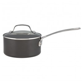 Circulon 83649 Genesis Plus Saucepan With Lid Hard Anodized 20cm