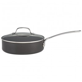 Circulon 836451 Genesis Plus Saute Pan With Lid Hard Anodized 24cm