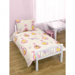 Official Disney Princess Locket Junior Duvet Cover - Clearance Wholesale Stock