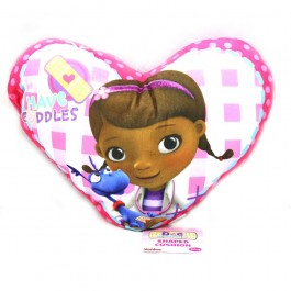 Official Doc McStuffins Patch Cushion - Buy Wholesale Bedding Stock