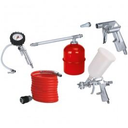 Einhell 4132720 5 Piece Air Compressor Accessory Set Air Tool Kit