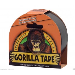 Gorilla Strong Black Duct Gaffer Tape 48mm x 11m