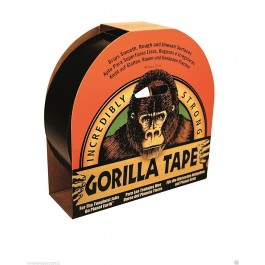 Gorilla Strong Black Duct Gaffer Tape 48mm x 32m
