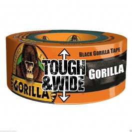 Gorilla Tape Extra Thick Wide Tough Tape Black 73mm x 27m