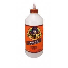 Gorilla Wood Glue Multi-Purpose Waterproof Adhesive 1 Litre