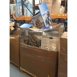 nilfisk vacuum cleaner raw return stock pallets for export