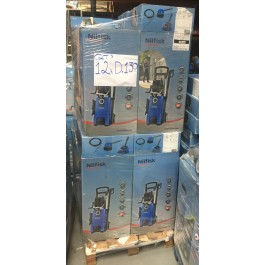 nilfisk d130 pressure washer jet washer returns stock pallets