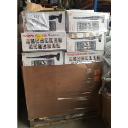 morphy richards supervac vacuum cleaner returns pallets