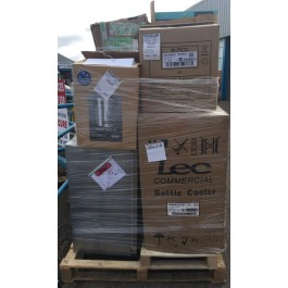 LEC fridge freezer returns pallets