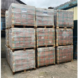 Indian Hand Made Red Clay Building Brick Pallets