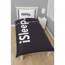 Official iSleep Reversible Single Duvet Cover - Buy Wholesale Clearance Stock