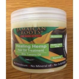 Jamaica Roots Healing Hemp Hair Oil 200ml - Black Hair
