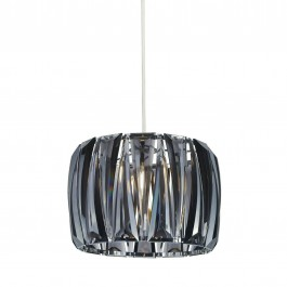 Lighting Collection 700380 Pendant Ceiling Light Sparkle Clear Acrylic