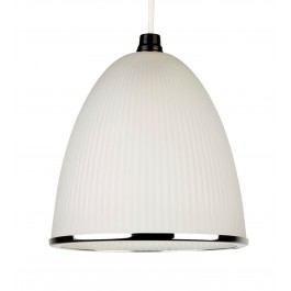 Lighting Collection 700382 Acid Glass Pendant Ceiling Light Frosted Glass