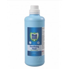 Mediguard Highly Concentrated Sterilising Fluid 1L - Wholesale Excess Stock
