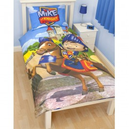 Official Mike The Knight Glendragon Single Duvet Cover - Clearance Stock
