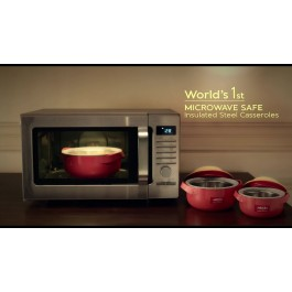 Milton Microwow World's 1st Microwave Safe Casserole Set - New Wholesale Stock
