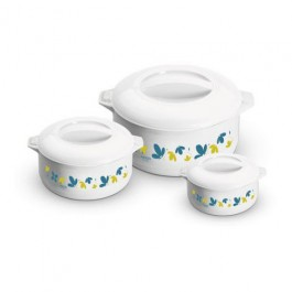 Milton Treat Large 3 Piece Insulated Casserole Dish Set - New Wholesale Stock