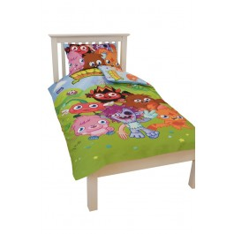 Official Moshi Monsters Monster Single Duvet Cover - Wholesale Clearance Stock