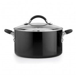Prestige 13685 Inspire Stockpot Stock Pot 24cm 5.7L In Black
