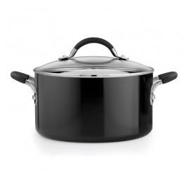Prestige 13685 Inspire Stockpot Stock Pot 24cm 5.7L In Black