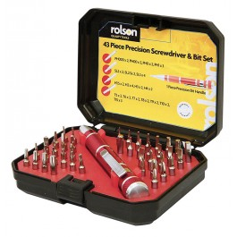 Rolson 28218 Precision Screwdriver Set