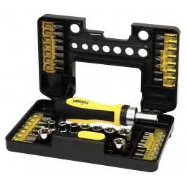 Rolson 28493 38 Piece Screwdriver, Bit & Socket Set
