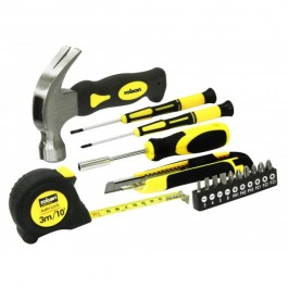 Rolson 36801 16 Piece Home DIY Tool Kit Set