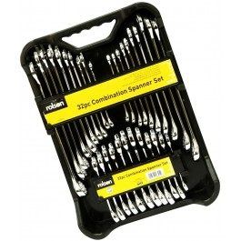 Rolson 46895 32 Piece Combination Spanner Set