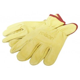 Rolson 60665 Leather Garden Pruning Gloves - New Stock