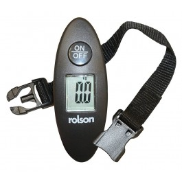 Rolson 60677 Digital Luggage Scale 40kg 88lb With Strap