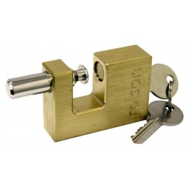 Rolson 66439 70mm Brass Padlock With 2 Keys - New Stock