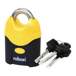 Rolson 66540 Heavy Duty 70mm Padlock Weather Resistant - New Stock