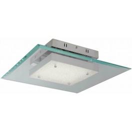 Searchlight 3101-16CC Lexi Square LED Glass Pendant Ceiling Light