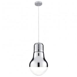 Searchlight 9030CC Neo Light Bulb Glass Pendant Light