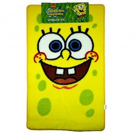 Official Spongebob Squarepants Face Floor Rug - Wholesale Clearance Stock