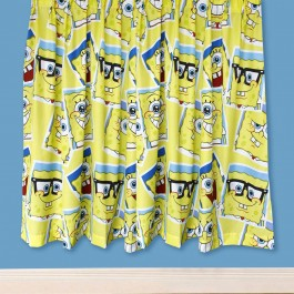 "Official Spongebob Squarepants Framed Curtains 54"" - Buy Stock"