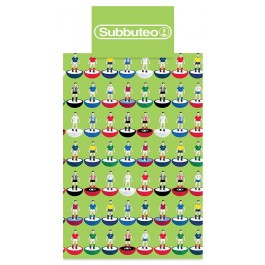 Official Subbuteo Single Duvet Cover - Clearance Wholesale Stock